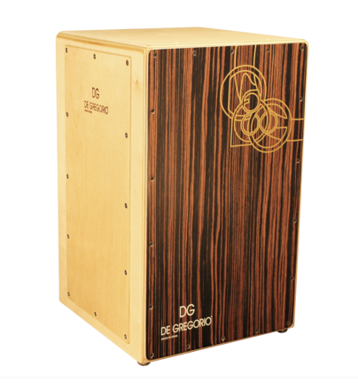 DrumBox Travel Set Cajón with Pedal & Carpet
