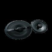 Haut-parleurs coaxiaux à 2voies de 16x24cm (6x9po)