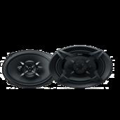 Haut-parleurs à 3voies de 16x24cm (6x9po)