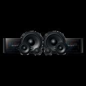 Haut-parleurs composés à 3voies de 16cm (61/2po)