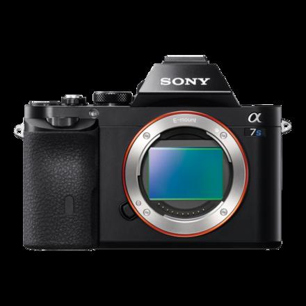 Appareil photo α7S à monture E avec capteur plein cadre Image
