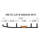 "TAT4-9975 - 6"" X 60 Degree Carbide - 1 pr."
