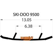 """WSD-9500 - 8"""" X 60 Degree Carbide - 1 pair"""