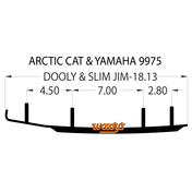 """DA4-9975 - Dooly  - 4""""X 60 Degree Carbide - 1 pc."""