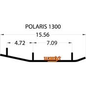 "TPI4-1300 - 6"" X 60 Degree Carbide - 1 pair"