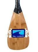 The Catalina Adjustable Carbon Fibre / Bamboo SUP Paddle