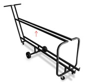 PLASTIC TOP RAIL COVER FOR 1910 STAND CART