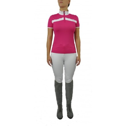 COMPETITION SHIRT SPORTIVE, Pink Adventure, Large picture