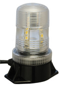 "5.25"" UTILITY MARKET LED STROBE BEACON WHITE"