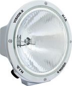 """8.7"""" ROUND CHROME 35 WATT HID EURO BEAM LAMP"""