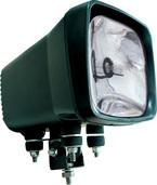 "6"" X 6"" SQUARE BLACK 50 WATT HID SPOT BEAM LAMP"