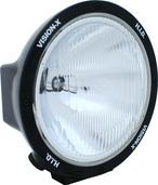 """8.7"""" ROUND BLACK 50 WATT HID EURO BEAM LAMP"""