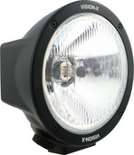 "6.7"" BLACK HALOGEN 100/80 WATT HI-LO BEAM LAMP"
