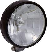 "6"" BLACK 100 WATT HALOGEN OFF ROAD LAMP EURO BEAM LAMP WITH BLACK COVER"