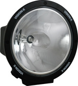 "8.7"" ROUND BLACK 100 WATT TUNGSTEN SPOT BEAM LAMP"