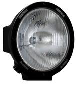 """8.7"""" ROUND BLACK 100 WATT TUNGSTEN EURO BEAM LAMP"""