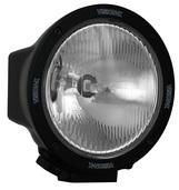"""6.7"""" ROUND BLACK 100 WATT TUNGSTEN EURO BEAM LAMP"""