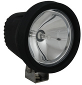"5.5"" ROUND BLACK 100 WATT TUNGSTEN SPOT BEAM LAMP"