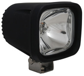 "4"" SQUARE BLACK 100 WATT HALOGEN SPOT BEAM LAMP"