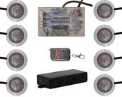 LED STROBE AND ROCK LIGHT KIT SUPERWHITE