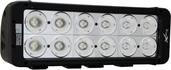 "11"" EVO PRIME DOUBLE STACK LED BAR BLACK TWELVE 10-WATT LED'S 20 DEGREE NARROW BEAM"
