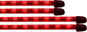 FLEXIBLE LED UNDER CAR KIT RED