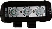 """5"""" XMITTER LOW PROFILE PRIME BLACK THREE 3-WATT LED'S 2 LIGHT KIT"""