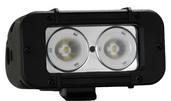 "5"" EVO PRIME LED BAR BLACK TWO 10-WATT LED'S 20 DEGREE NARROW BEAM"