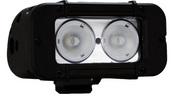 """5"""" EVO PRIME LED BAR BLACK TWO 10-WATT LED'S 40 DEGREE WIDE BEAM"""