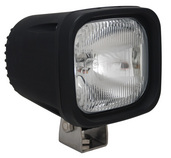 "4"" SQUARE BLACK 100 WATT HALOGEN EURO BEAM LAMP"