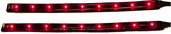 """TWIN PACK FLEXIBLE LED BARS 6"""" RED"""