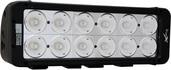 """11"""" EVO PRIME DOUBLE STACK LED BAR BLACK TWELVE 10-WATT LED'S 40 DEGREE WIDE BEAM"""