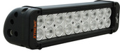 "11"" XMITTER PRIME XTREME LED BAR BLACK EIGHTEEN 5-WATT LED'S 10 DEGREE NARROW BEAM"