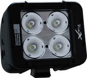 """5"""" EVO PRIME DOUBLE STACK LED BAR BLACK FOUR 10-WATT LED'S 40 DEGREE WIDE BEAM"""
