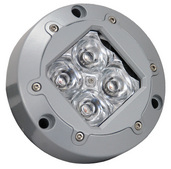 SUBAQUA UNDERWATER LED LIGHT FOUR WHITE 3-WATT LED'S NARROW BEAM