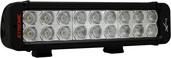 "11"" XMITTER PRIME XTREME LED BAR BLACK EIGHTEEN 5-WATT LED'S 40 DEGREE WIDE BEAM"
