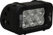 """5"""" XMITTER PRIME LED BAR BLACK SIX 3-WATT LED'S 2 LIGHT KIT"""