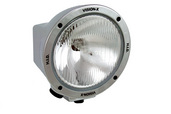 """6.7"""" ROUND CHROME 100 WATT TUNGSTEN EURO BEAM LAMP"""