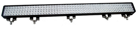 """52"""" XMITTER DOUBLE STACK BAR BLACK 200 3-WATT LED'S EURO picture"""