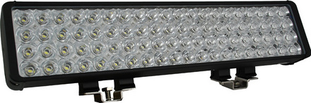 """22"""" XMITTER DOUBLE STACK BAR BLACK 80 3-WATT LED'S FLOOD picture"""