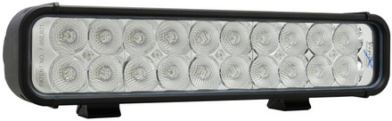 "12"" XMITTER LED BAR BLACK TWENTY 3-WATT LED'S FLOOD BEAM picture"