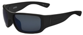 Lycan Matte Black / True Color Grey Reflection Blue Polarized