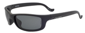 Tioga Matte Black / True Color Grey Non-Reflection Polarized