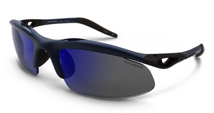 H-Wall Sweptback Cobalt Blue / True Color Grey Reflection Blue Polarized picture