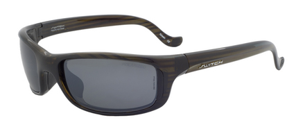 Tioga Olive / True Color Grey Reflection Silver Polarized picture
