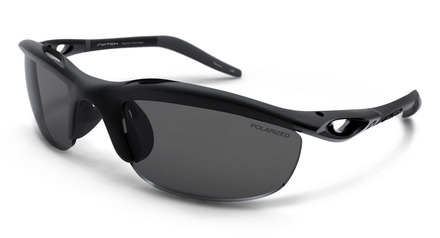 H-Wall Wrap Matte Black / True Color Grey Reflection Silver Polarized picture