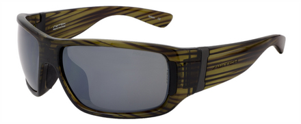 Lycan Olive / True Color Grey Reflection Silver Polarized