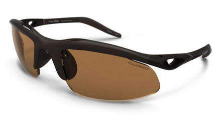 H-Wall Sweptback Dark Bronze / True Color Grey Reflection Silver Polarized picture