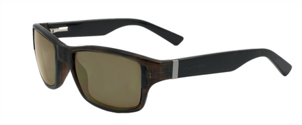 Zealot Olive with Black Temples / Polarized True Color Grey Reflection Silver picture