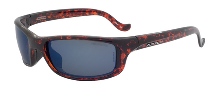 Tioga Fire Tortoise / True Color Grey Reflection Blue Polarized